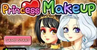 play princess makeup game