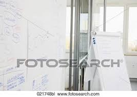 Whiteboard Flip Chart Whiteboard And Flip Chart In Meeting Room Stock Image