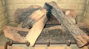 ceramic log fireplace inexpensive ceramic concrete gas fireplace logs ca fireplaces fiber replacement parts regency gas