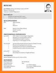 18 Cv Examples For Job Application Waa Mood