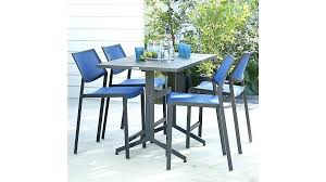 outdoor furniture crate and barrel. Crate And Barrel Outdoor Furniture Dining Table Largo High