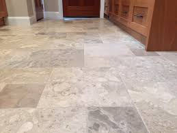 Travertine Kitchen Floors Kitchen And Dining Room Flooring With Travertine Tile Floor