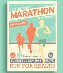 poster psd marathon event flyer template download movie poster psd templates