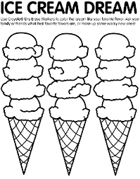 Small Picture Ice Cream Coloring Page crayolacom