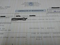 The Official Blog Of Verniel Cutar How To Register With The Bir As
