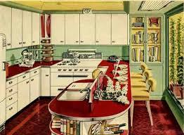 Red Retro Kitchen Px Interior Photo Fantastic Retro Kitchen Design Interior
