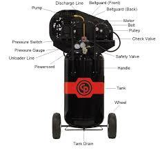 chicago pneumatic rcp 226vp parts master tool repair tank parts tank parts