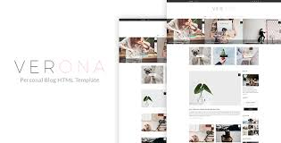 Photography Website Templates Custom VERONA Responsive MultiPurpose Portfolio Blog Template By