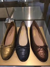 Chanel Ballerina Flats Size Chart Chanel Ballerina Flats Reference Guide Spotted Fashion