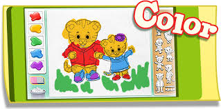 Small Picture Coloring Daniel Tigers Neighborhood PBS KIDS