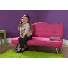 Dhp Rose Junior Sofa Lounger Racy Pink Futons On Popscreen