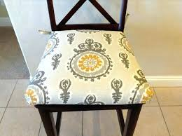 modern ivory grey yellow premier prints nova birch fabric seat cushion kitchen chair pad cushions outdoor