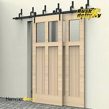 rustic barn doors 6 arrow design bypass sliding barn wood door closet door interior rustic sliding rustic barn doors rustic sliding