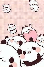 Pink Kawaii Panda Wallpapers - Top Free ...