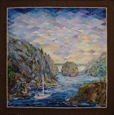 Watercolor Landscape Quilt Patterns | ... : art quilts. choosing ... & art quilts. choosing fabrict , landscape quilts , pictorial quilts |  Amazing landscaping | Pinterest | Landscape qu… Adamdwight.com