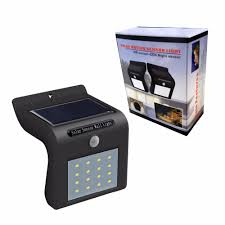 16led solar sensor lights outdoor