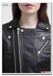 designer jackets leather jacket black jacket ze1775 jacket uk u k 825 goosecraft womens