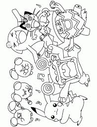 Small Picture Coloring Pages Color Pages Pokemon Coloring Page Free Pokemon