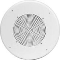 quam c5 bu w 8 loudspeaker w 25v 70v transformer screw mount ceiling baffle for 8 speaker white steel