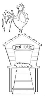 Small Picture Hen House Coloring Pages Sketch Coloring Page