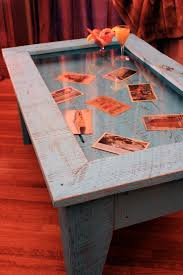 Coffee Table With Hinged Top. Love This Idea. It Reminds Me Of The Table At  My Memawu0026 House With All The Pictures Under Glass.