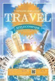 Free Travel Flyer Psd Templates Download Styleflyers