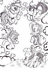 17 Dessins De Coloriage My Little Pony Equestria Imprimer