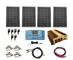 complete 400 watt solar panel kit vertamax power inverter for complete 400 watt solar panel kit vertamax power inverter for 12 volt battery systems