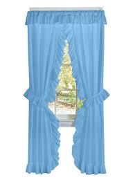 ruffled priscilla curtain set loading zoom