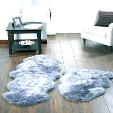 white faux fur area rug large fur rugs area rug designs