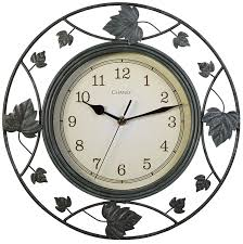 full image for chic chaney wall clock 130 chaney rustic wall clock