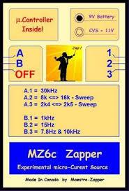 Hulda Clark Frequency Chart Maestro Zapper 6 Frequencies Hulda Clark S Parasite Zapper