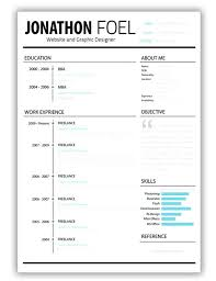 Modern Resume Template Word Free Download – Silversquarehomes
