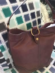 nwt frye leather ring hobo bag cognac full grain leather