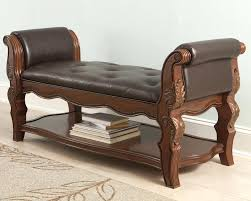 Wooden End Of Bed Bench