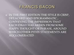 francis bacon s of love