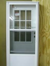 storm door and screen door combination mobile home storm door combination exterior door with 9 lite