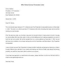 Rental Lease Letters Rental Lease Termination Letter Landlord Lease Termination Letter