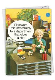 Administative Day Department Gives A Shit Administrative Professionals Day Card