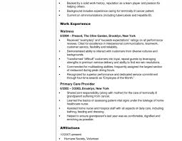 Resume Examples For Cna Of Resumes Image Resume Sample And