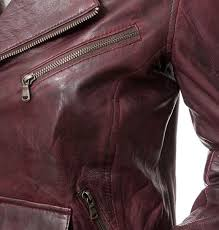 leather womens biker red jacket womens oxblood jacket