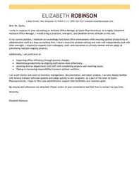 Outstanding Cover Letter Examples   Great Cover Letter Examples Administrative Assistant Cover Letter Templates
