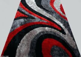 red and black area rugs gy modern black red grey area rug actual size x red and black area rugs