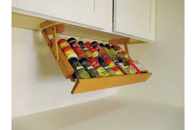 Coffee Cup Rack Under Cabinet Kitchen 4 Slim Spice Racks For Cabinets