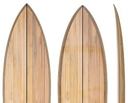 hollow core wooden surfboard kits