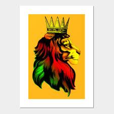 Royal Reggae Rasta Lion