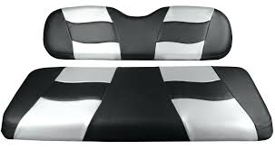 club car ds seat cover riptide front seat cover black carbon silver carbon club car ds seat covers canada