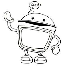 Small Picture Awesome Team Umizoomi Bot Coloring Pages Ideas Coloring Page