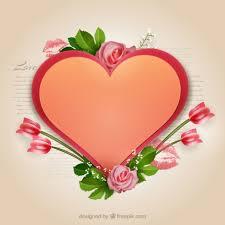 Resultado de imagen para corazon de flores