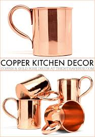 Copper Kitchen Decor - These is the Ultimate Copper Kitchen Guide.  Everything you need to